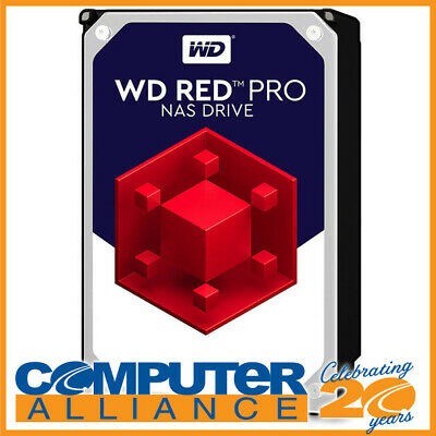 "10TB WD 3.5"" 7200rpm SATA 6Gb/s RED Pro HDD PN WD101KFBX"