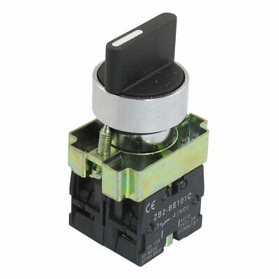 "7/8"" 3-Position Rotary Switch Knob Selector Select Latching Locking 240V AC 3A"