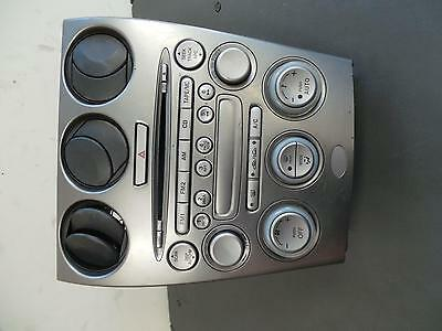 Mazda 6 Radio/cd/dvd/sat/tv Standard Cd Player-In Dash Stacker Type, Gg-Gy, 09/0