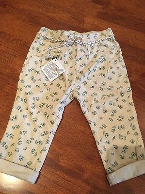 Zara Baby girl Pants 9-12 Months (0) NEW WITH TAGS