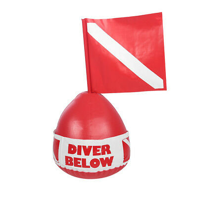 SOS Scuba Diving Diver Below Inflatable Signal Floater Float Dive Flag Bouy Ball