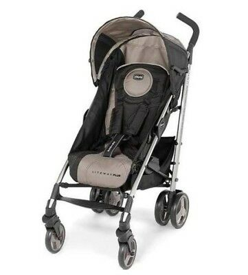 chicco liteway plus 2 in 1 stroller champagne key fit carrier
