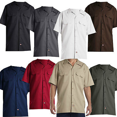 Dickies Short Sleeve Work Shirt Herren-Hemd Freizeithemd Kurzarmhemd  Regular Fit f79ca83a13