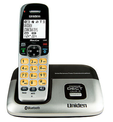 Uniden DECT3216 DECT Digital Cordless Phone System with Bluetooth