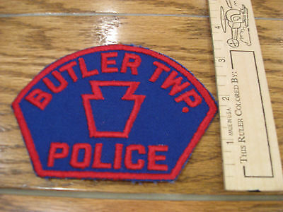old Bulter Pennsylvania Police patch vintage PA