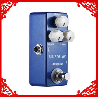MOSKYAUDIO NEW Analog Delay Guitar Effect Pedal Delay And True Bypass