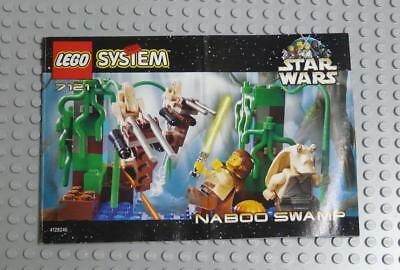 LEGO INSTRUCTIONS MANUAL BOOK ONLY 7121 Naboo Swamp x1PC