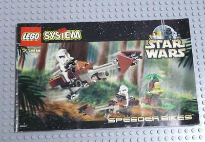 LEGO INSTRUCTIONS MANUAL BOOK ONLY 7128 Speeder Bikes x1PC