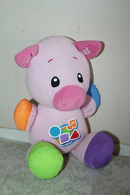 Fisher Price Laugh & Learn Musical Learning Pig P7686