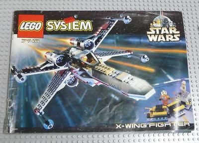 LEGO INSTRUCTIONS MANUAL BOOK ONLY 7140 X-Wing Fighter x1PC