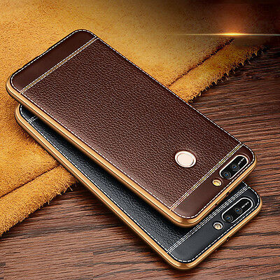 For Huawei Luxury Ultra Slim Rubber Silicone Soft ShockProof Phone Case Cover