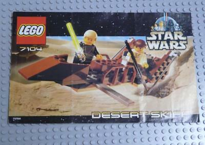 LEGO INSTRUCTIONS MANUAL BOOK ONLY 7104 Desert Skiff x1PC