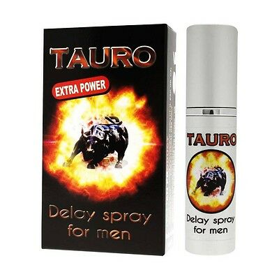 2 Ritardanti Spray Tauro Extra Power  5ml Eiaculazione Precoce + Durex Performa