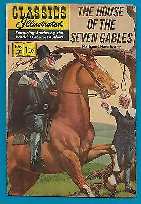 Classics Illustrated Comic Book 1966 The House of the 7 Gables # 52.   #574