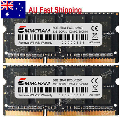 AU 16GB (2x8GB) PC3L-12800 DDR3L-1600Mhz SODIMM MacBook Pro Imac Mac Mini Memory