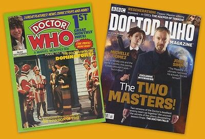 Doctor Who Magazine listing 6 of 7: Issues 401 - 500. Choose yours! LOW PRICE!