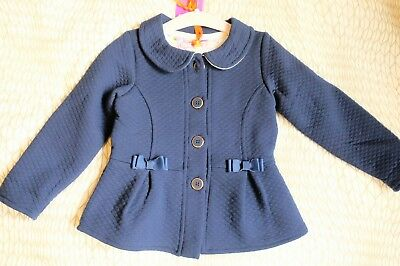 baby girls ted baker jacket brand new with tags navy