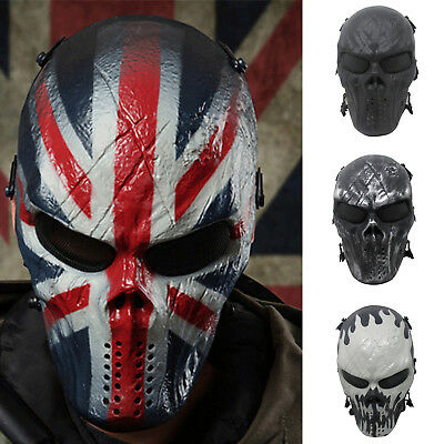 Skull Mask Phantom Military Tactical Outdoor Wargame Paintball Airsoft Halloween