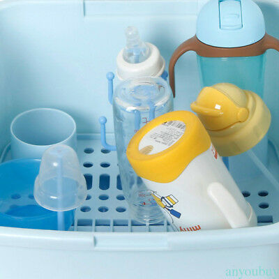 Compact Portable Baby Bottle Drying Rack Smart Design Dishwasher holder box GEX0