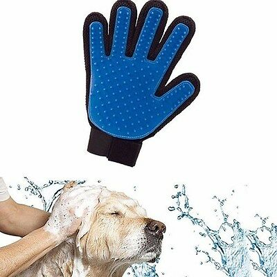 Pet Cleaning Brush Dog Massage Hair Removal Grooming Magic Deshedding Glove