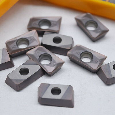 10Pcs 25R0.8 Indexable Insert APMT1604PDER-M2 VP15TF Carbide Inserts CNC Nc Tool