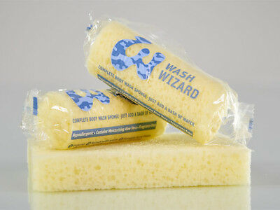 Wash Wizard sponges - Perfect for Festivals & Camping - 5 Packs