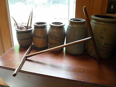 Antique  1800's  Wool  Winder~Knitting Or Spinning Tool~Niddy Noddy~Great Cond.~