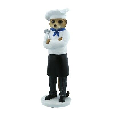 Chef Marco Magnificent Meerkats Country Artists Figurine 25.5cm CA04527 RRP £44