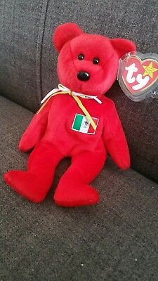 Ty beanie babies. Osito. Very Rare and un-numbered. Mint Condition.