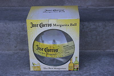 Jose Cuervo Margarita Ball Drink Dispensor Party Plastic With Pump Box Clear EUC