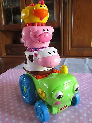Fisher Price clips animaux de la ferme tbe