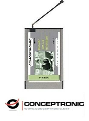 [SALE] Conceptronic CBT100C Bluetooth receiver adapter PC-card PCMCIA slot  We h