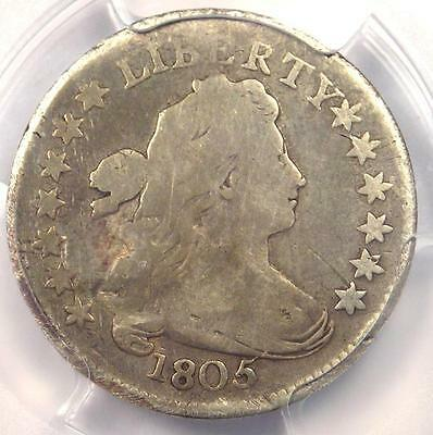 1805 Draped Bust Dime 10C - Certified PCGS Good Details - Rare Coin!