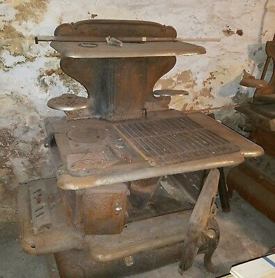 ●GLENWOOD ANTIQUE STOVE●1800's EARLY 1900's●WORKING CONDITION●NEEDS RESTORATION●