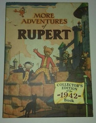 The New Adventures of RUPERT, Annual 1942 Facsimile Numbered Limited Edition