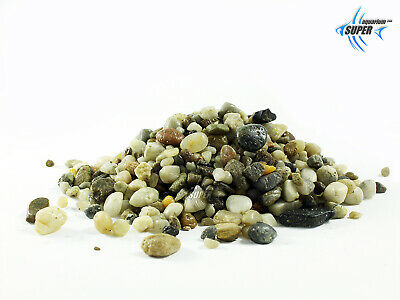 Aquarium Tropical Fish Tank & Plant Natural Gravel Stones Decoration & Substrate