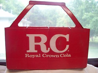 Rc Royal Crown Cola Plastic Carrier Red