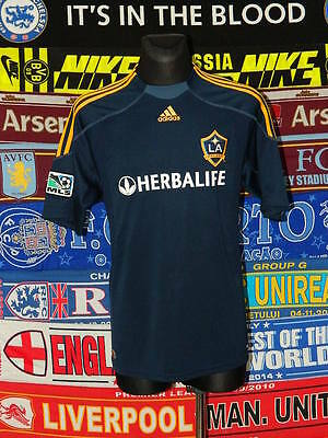 5/5 LA Galaxy adults L 2009 MINT away football shirt jersey trikot soccer