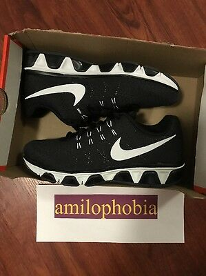 New Women's Nike Air Max Tailwind 8 Size 9 Black White Running Shoes
