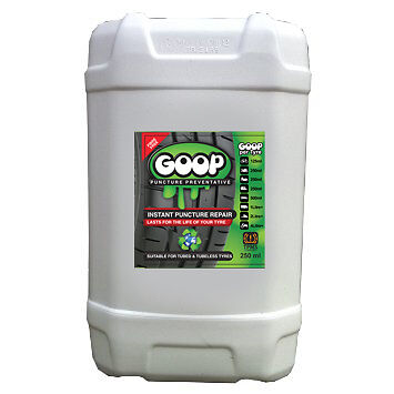 Goop Tyre Sealant Puncture Preventer Proofer 25 Litre Drum / Super Price