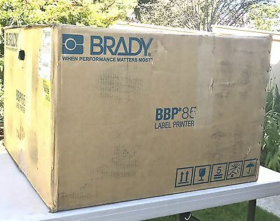 Brady BBP85 Large Format Sign and Label Thermal Printer - New in Box