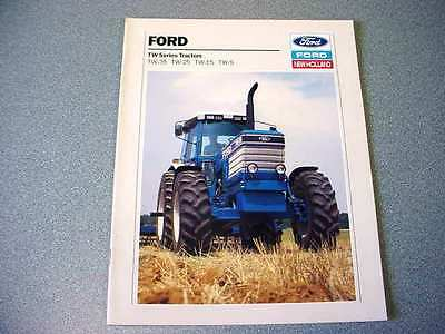 Ford TW-5, TW-15, TW-25, TW-35 Farm Tractor Color Brochure                    lw