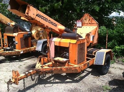 2003 Woodchuck Wc126 Drum Wood Chipper With 4 Cylinder Gas Engine