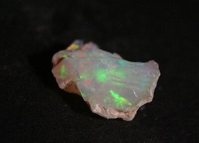 7.2ct Welo Crystal Opal Rough - Pastel Rainbow - AAA Piece - See Video