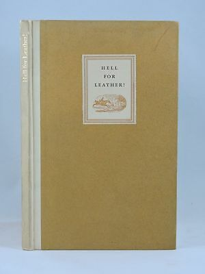 Rare Derrydale Hell for Leather Fox Hunting Book Foxhunting Limited Edition