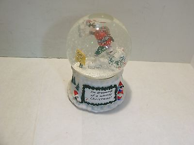 "Maxine ""I'm Dreaming of a Whiney Christmas!"" Snowglobe Music Box Hallmark"