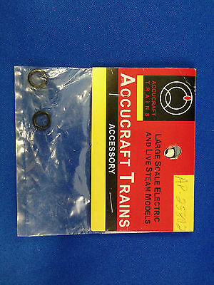 "G Scale Accucraft Trains, Ruby O-ring - Oil Lubricator OD 3/8"" (2) AP25-802"