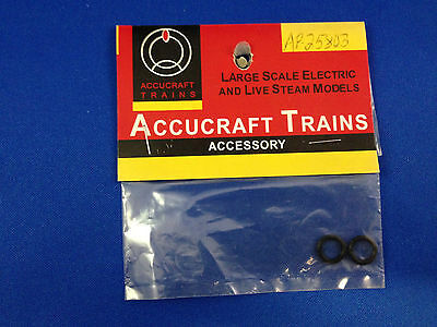 G Scale Accucraft Trains, Ruby O-ring for Water Filler Cap (2) AP25-803