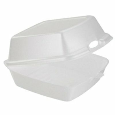 Dart 60HT1 Carryout Food Containers, Foam, 1-Comp, 5 7/8 x 6 x 3, White Pack of