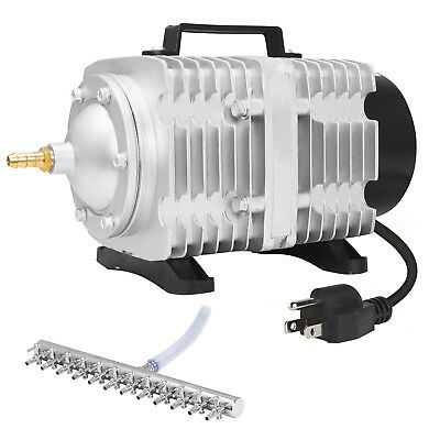 VIVOSUN 1750 GPH O2 Air Pump 12 Outlets for Aquarium Fish Pond Hydroponics 102W